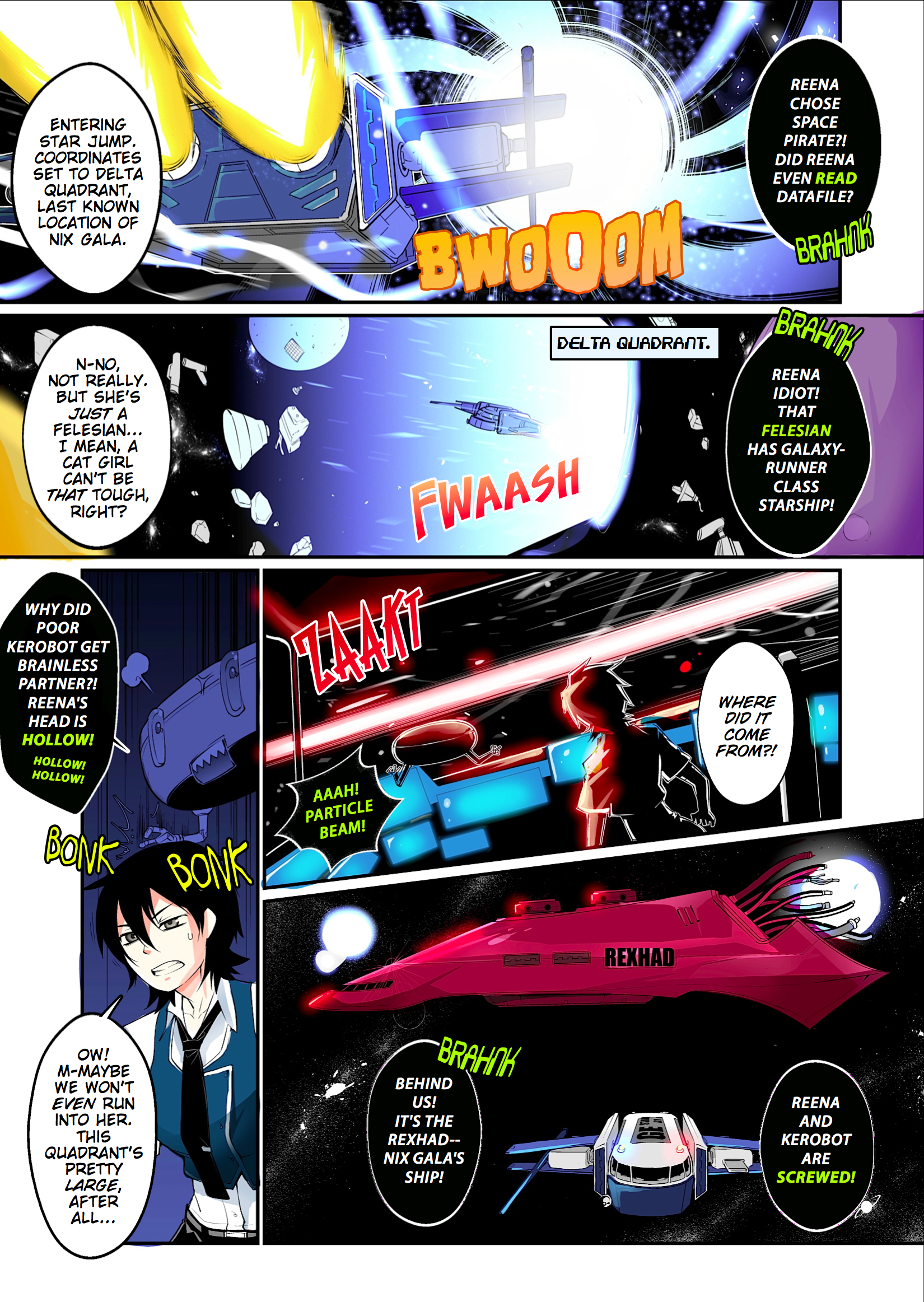 Danger Star One, Page 2